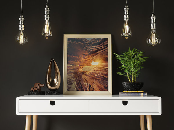 "Print ""Sunrise Nature Window"""
